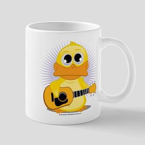 Acoustic Guitar Duck Mug