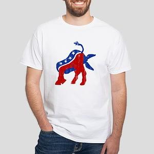 DemocRat Head Plant White T-Shirt