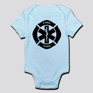 Fire and EMS Infant Bodysuit