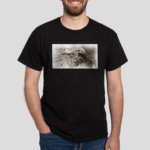 Sepia Tiger Dark T-Shirt
