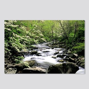 Smokey Mountain Water Falls Postcards (Package of