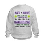 Isner Epic Match Kids Sweatshirt