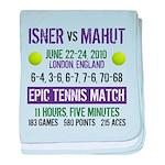 Isner Epic Match baby blanket