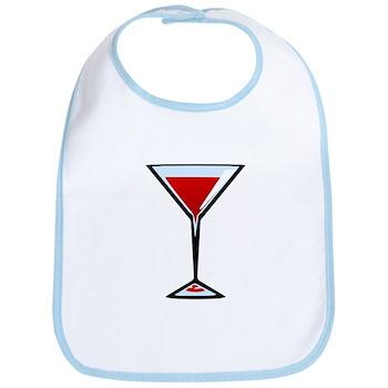 Vampire Martini Bib