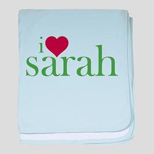 I Heart Sarah Infant Blanket