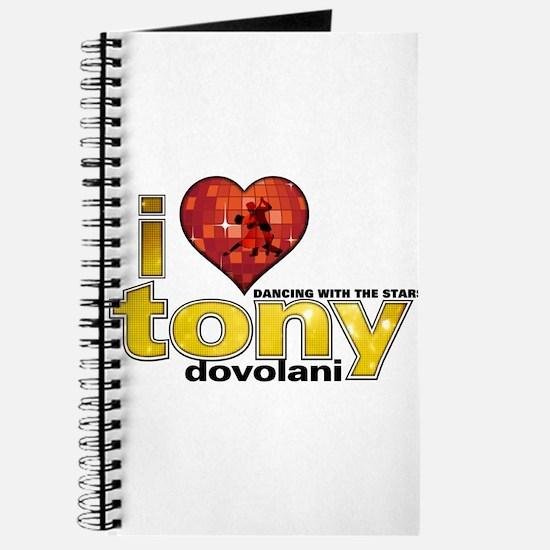 I Heart Tony Dovolani Journal