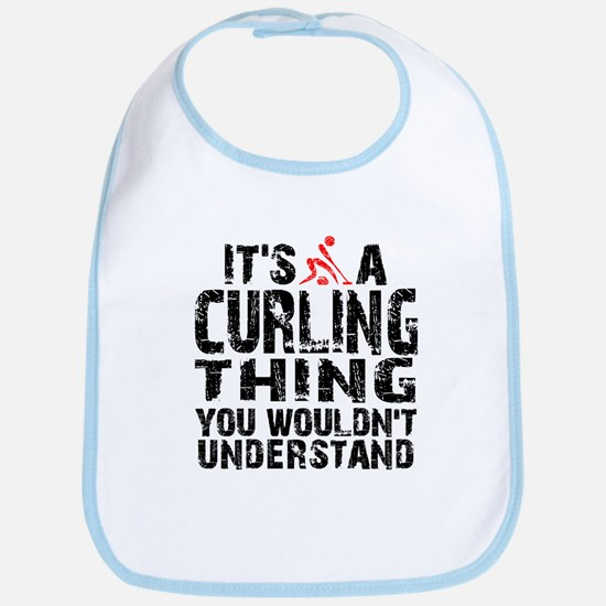 Curling Thing Bib