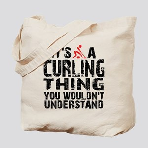 Curling Thing Tote Bag