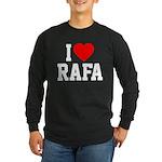 I Love Rafa Long Sleeve Dark T-Shirt