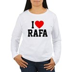 I Love Rafa Women's Long Sleeve T-Shirt