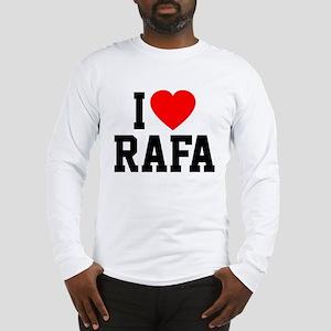 I Love Rafa Long Sleeve T-Shirt