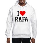 I Love Rafa Hooded Sweatshirt