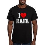 I Love Rafa Men's Fitted T-Shirt (dark)