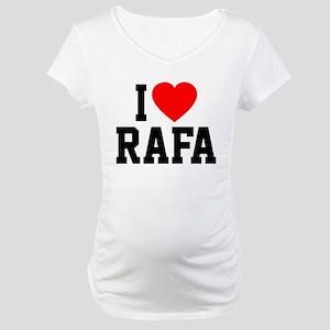 I Love Rafa Maternity T-Shirt