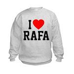 I Love Rafa Kids Sweatshirt