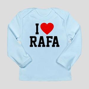 I Love Rafa Long Sleeve Infant T-Shirt
