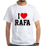 I Love Rafa White T-Shirt