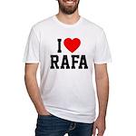 I Love Rafa Fitted T-Shirt