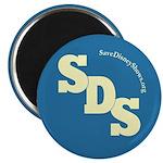 """SDS 2.25"""" Magnet (100 pack)"""