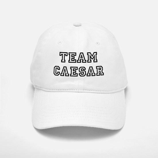 Team Caesar Baseball Baseball Cap