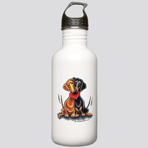 Smooth Dachshund Lover Stainless Water Bottle 1.0L