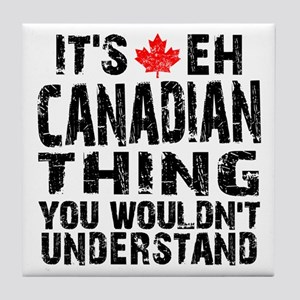 Canadian Thing Tile Coaster