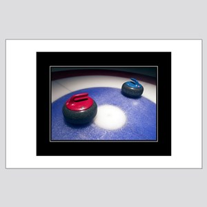 Curling Stones 18x24 Poster