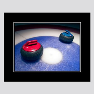 Curling Stones 16x20 Poster