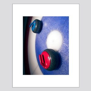 Curling Stones 11x14 Poster