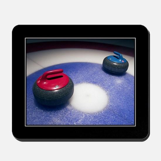 Curling Stones Mousepad