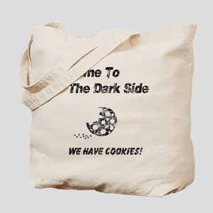 Vintage Come to the Dark Side Tote Bag