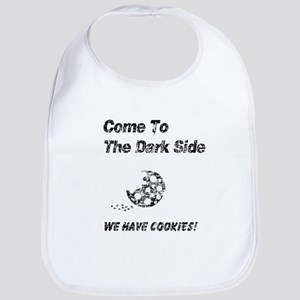 Vintage Come to the Dark Side Bib
