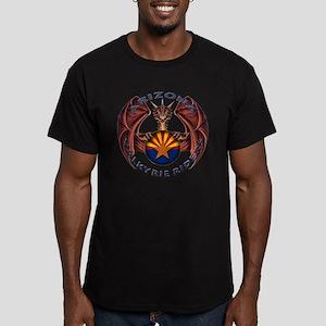 Arizona Valkyire Riders Men's Fitted T-Shirt (dark