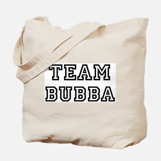 Team Bubba Tote Bag