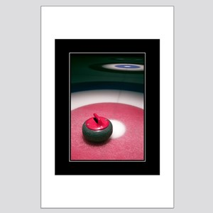 Curling Stone 18x24 Poster