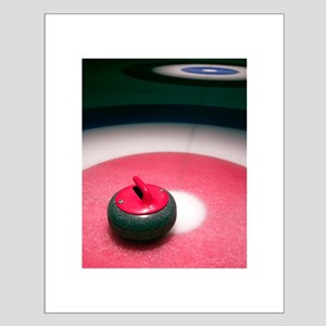 Curling Stone 11x14 Poster