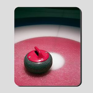 Curling Stone Mousepad