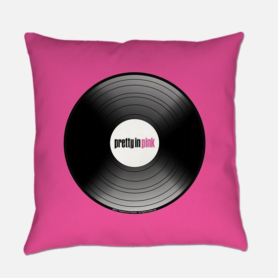 Pretty in Pink Record Everyday Pillow