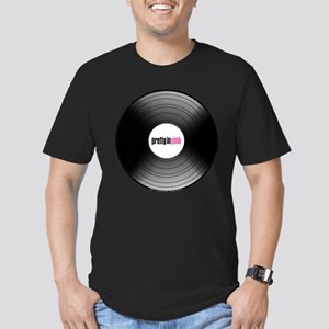 Pretty in Pink Record Men's Fitted T-Shirt (dark)