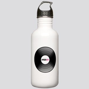 Pretty in Pink Record Stainless Water Bottle 1.0L