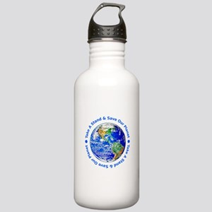 Save Our Planet! Stainless Water Bottle 1.0L