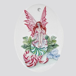 Mint Fairy Ornament (Oval)