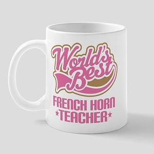 French Horn Teacher Mug