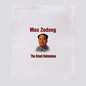 Mao Zedong Throw Blanket