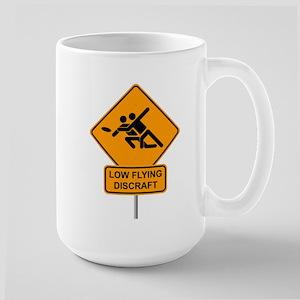 """""""LOW FLYING DISCRAFT"""" Large Mug"""