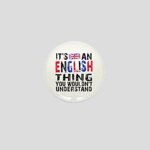 English Thing Mini Button
