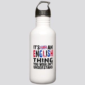 English Thing Stainless Water Bottle 1.0L