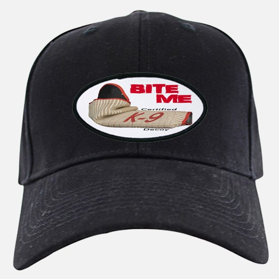 BITE ME CK9D with Sleeve Baseball Hat