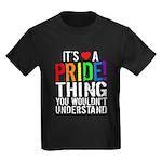 Pride Thing Kids Dark T-Shirt