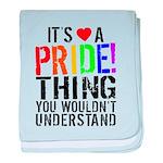 Pride Thing baby blanket